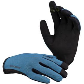 IXS Carve Guanti, blu/nero